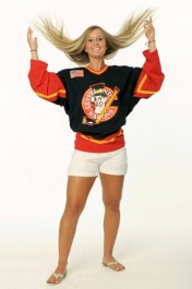 Kelli Stack is an important part of the U.S. women's hockey team... and beautiful to boot!