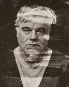 Philip Seymour Hoffman took this creepy photo not long before his death (Victoria Will/AP)