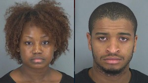 Thompson and Ford... the unhappy couple (Spartanburg Co. Detention Center)