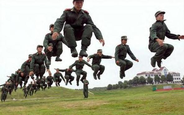 The world stands on the brink of war once again after UN officials discover North Korea's army has the power to levitate! (Perfectly Timed Photos)