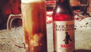 The beer with the taste for the undead! (Dock Street Brewery)