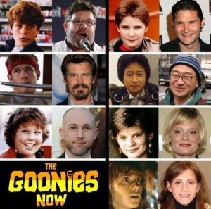 The Goonies back in the day and today (Funny Junk)