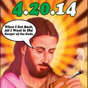 Jesus as a pot smoker? (Lunchbox Laboratory)