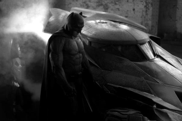 I admit that Ben looks pretty cool as Batman! (Zack Snyder/Twitter)