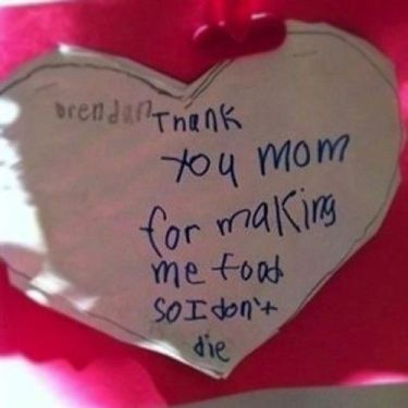 """This should read """"thanks for making me food so I don't die and for buying me fast food that could eventually kill me"""" (Pin It)"""